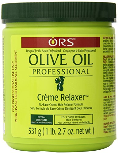 Organic Root Stimulator Olive Oil Professional Creme Relaxer, Extra Strength, 531 grams by Organic Root Stimulator