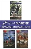 Harlequin Love Inspired Suspense November 2018 - Box Set 1 of 2: Valiant Defender\Lost Christmas Memories\Deadly Christmas Duty