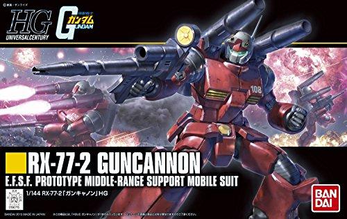 Bandai Hobby HGUC Guncannon Revive Action Figure (1/144 -