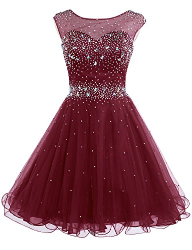 Red Homecoming Dresses for Juniors: Amazon.com