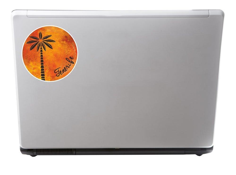 2 x Tenerife Spain Vinyl Sticker Laptop Travel Luggage Car #6344