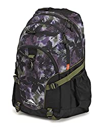 High Sierra 53646-4954 Loop Backpack, Forest/Black/Moss, International Carry-On