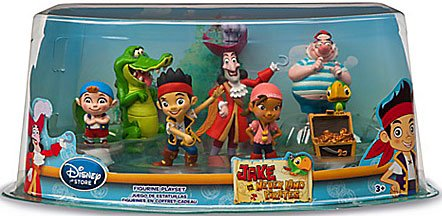 Disney Jake & the Never Land Pirates Exclusive 7-Piece PVC Figurine Playset ()