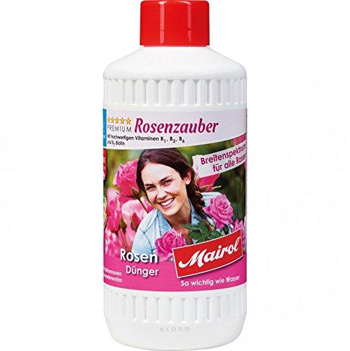 Mairol Rose fertilizzante Rosenzauber liquido da 500 ml