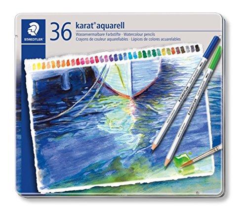 Set 125 M36 36 Colors Staedtler Dilshan Watercolor Pencil B0015Q5H7E