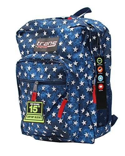 Trans by Jansport Supermax Multi Stars Backpack