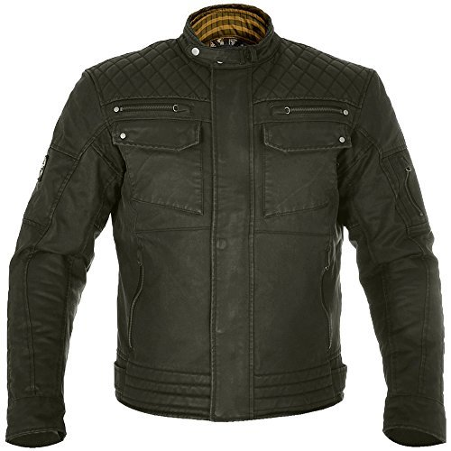 Waxed Cotton Motorcycle Jacket - 2