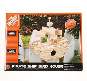 The Home Depot Pirate Ship Bird House