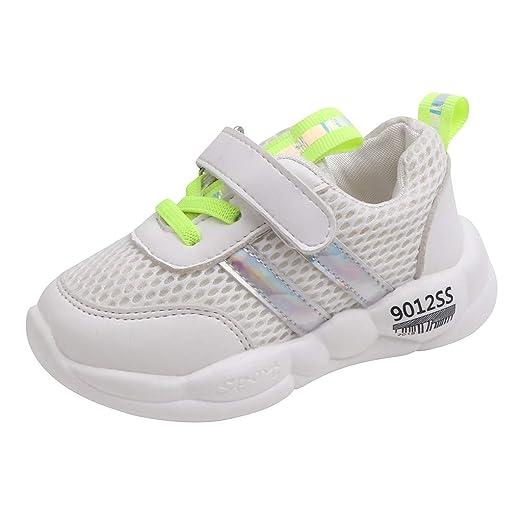 744db78e3e4ed Amazon.com: Lucoo Infant Toddler Baby Walking Sneakers Children ...