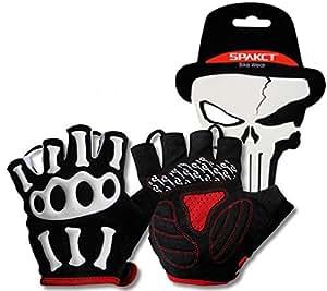 Nuevo diseño de Cool PLAYDO de ciclismo guantes sin dedos guantes de Motocross de calavera para bicicleta de equitación sin dedos guantes para verano
