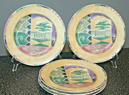 - 222 Fifth Verona SALAD Plates SET/5~8