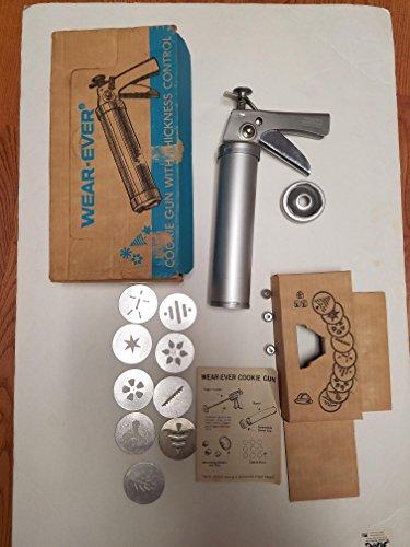 Vintage Wear-Ever Cookie Gun - Vintage Cookie Cutters