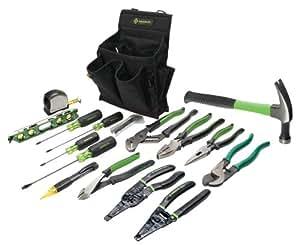 Greenlee 0159-12 Journeyman's Tool Kit, Standard