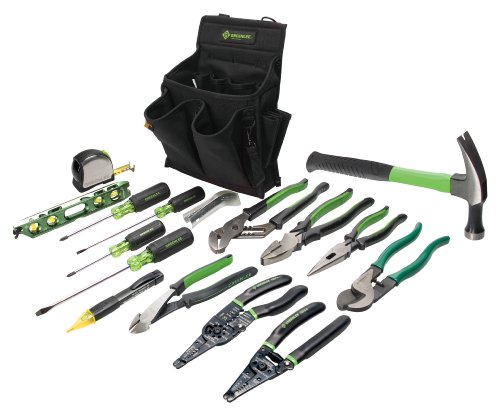 Greenlee 0159-12 Journeyman's Tool Kit, Standard (8' Tools Nose Long)