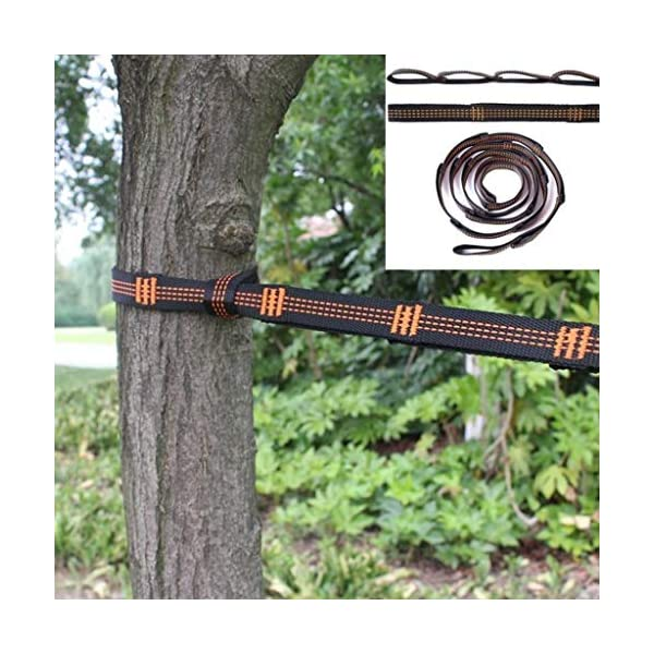 Xiuinserty, Corda regolabile per appendere l'amaca agli alberi, per arrampicata e yoga aereo 2 spesavip