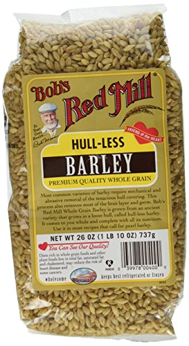 Bob's Red Mill Barley Hull-Less Whole 2Pk (Net 26 OZ)