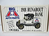 ERTL Big A Auto Parts 1918 Runabout Bank 1:25 die-cast metal