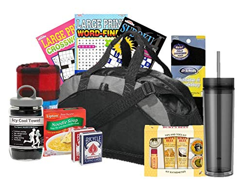 Just Don't Send Flowers Men's Get Well Gym Bag Gift