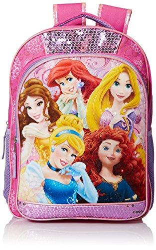 - Disney Baby Girl's Princess Light Up Backpack, Pink, One Size