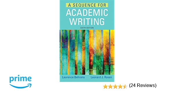 a sequence for academic writing 7th edition online