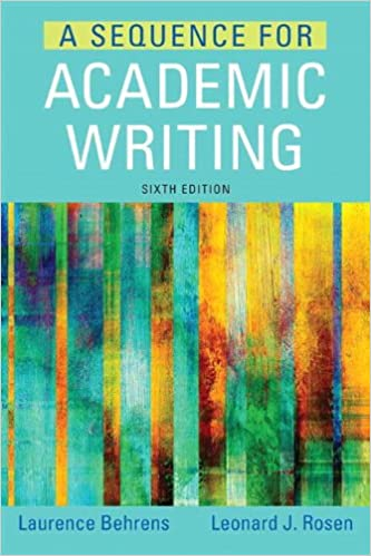 sequence for academic writing 5th edition