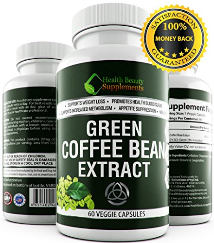 * EXTREME * Green coffee bean extract - green coffee bean extract for weight loss - green coffee bean extract 800mg -PER CAP- 1600mg Daily – SLAMS - green coffee bean extract chews