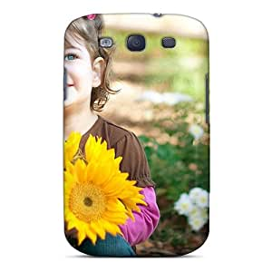 Tpu Shockproof/dirt-proof Sunny Side Street Girls Cover Case For Galaxy(s3)