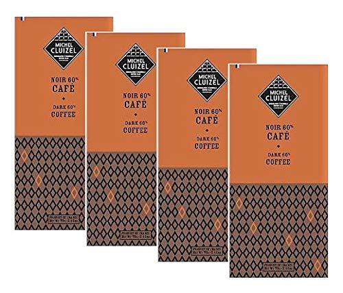 Michel Cluizel Dark Chocolate Bar con Café Cacao 60% Manteca ...