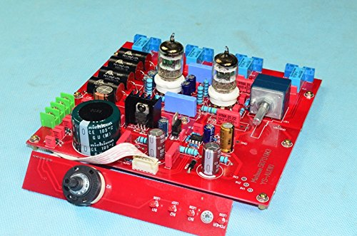 Q-BAIHE YS-D1 preamplifier HiFi tube pre-amp, 5670 fever preamplifier by Q-BAIHE