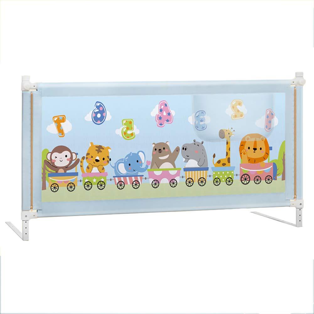 ベッドフェンス- 幼児用安全ベッドレールガード、キングベッド用垂直昇降ガードレール、サイズオプション(片側) (サイズ さいず : 180cm) 180cm  B07KY73K1B