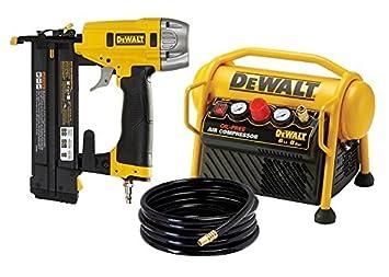 Lot clavos neumático de precisión (dpn1850) + compresor 6L Dewalt dpc6mrc-qs/1850: Amazon.es: Bricolaje y herramientas
