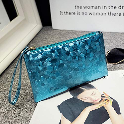 Fashion Women Evening Party Clutch Bag Makeup Bag Sequins Sparkling Bling Wallet