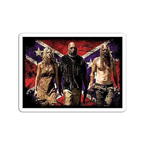 KoutYukshop Sticker Motion Picture The Devils Rejects Captain Spaulding Otis and Baby Action Movies Video Film (3