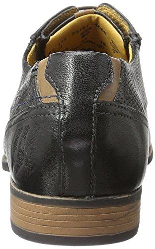Bugatti 312231014000, Zapatos de Cordones Derby para Hombre Negro (Schwarz 1000)