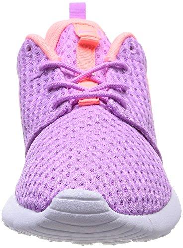 Nike Vrouwen Rosherun Br Running Trainers 724.850 Schoenen Van Fuschia Glow / Lava Glow / Wit