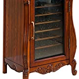 STG Wine cabinet solid wood European - style household barrels refrigerator ice bar electronic constant temperature wine cabinet