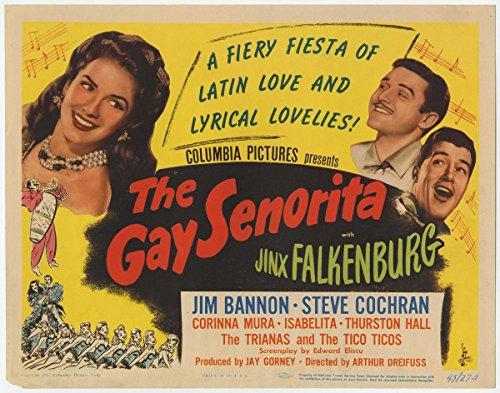 Gay Senorita - Premium Movie Poster Reprint 36 by 28 Unframed