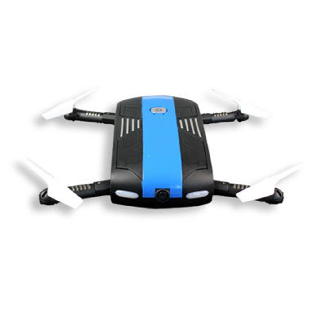 bluee KYOKIM Mobile Phone APP Control Collapsible Drone Synchronous Transmission Aerial Photography 14163cm Flight Time  7 Minutes And Remote Control Distance  40 Meters(English Version),bluee