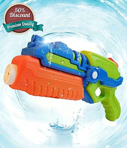 AsToy 물총 강력 워터 건 최대 비거리10m 여름휴가(방학) 물장난  바다의 풀 욕실 장난감 / AsToy 40cm BIG 물총 1200cc 초강력 비거리 물 밖으로 ぽう 최강 에어 샷 워터 건 야외 장난감 물총