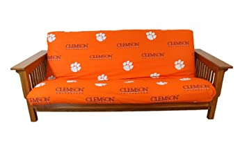 college covers clemson tigers futon cover full amazon    college covers clemson tigers futon cover full  home      rh   amazon