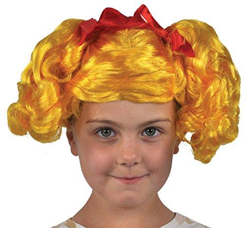 UHC Girl's Lalaloopsy Spot Splatter Curly Wig Child