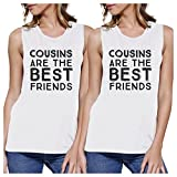 365 Printing Cousins Best Friends Cute Family Matching Muscle Tops For Cousins