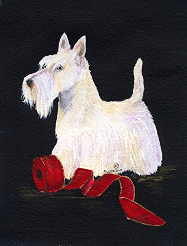 Caroline's Treasures SS8553CHF Scottish Terrier Flag Canvas, Large, Multicolor Review