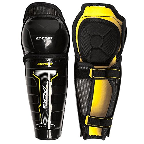 Youth Ice Hockey Shin Guards (CCM Tacks 3092 Hockey Shin Guards [YOUTH] - 10 Inch)