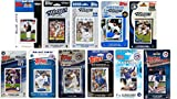 C&I Collectables MLB Toronto Blue Jays Men's 11 Different Licensed Trading Card Team Sets, White