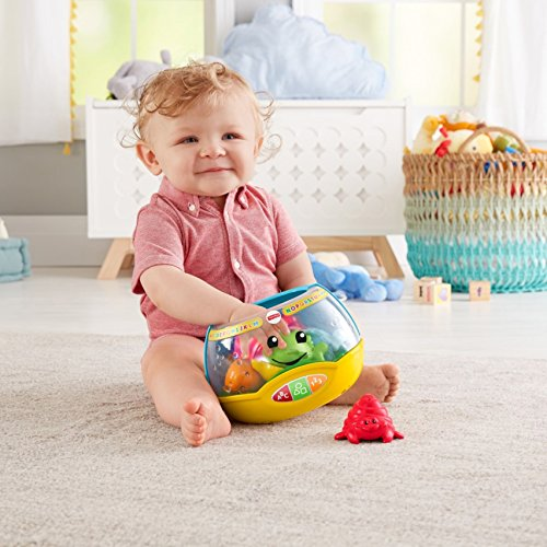 51tLdbLCXnL - Fisher-Price Laugh & Learn Magical Lights Fishbowl