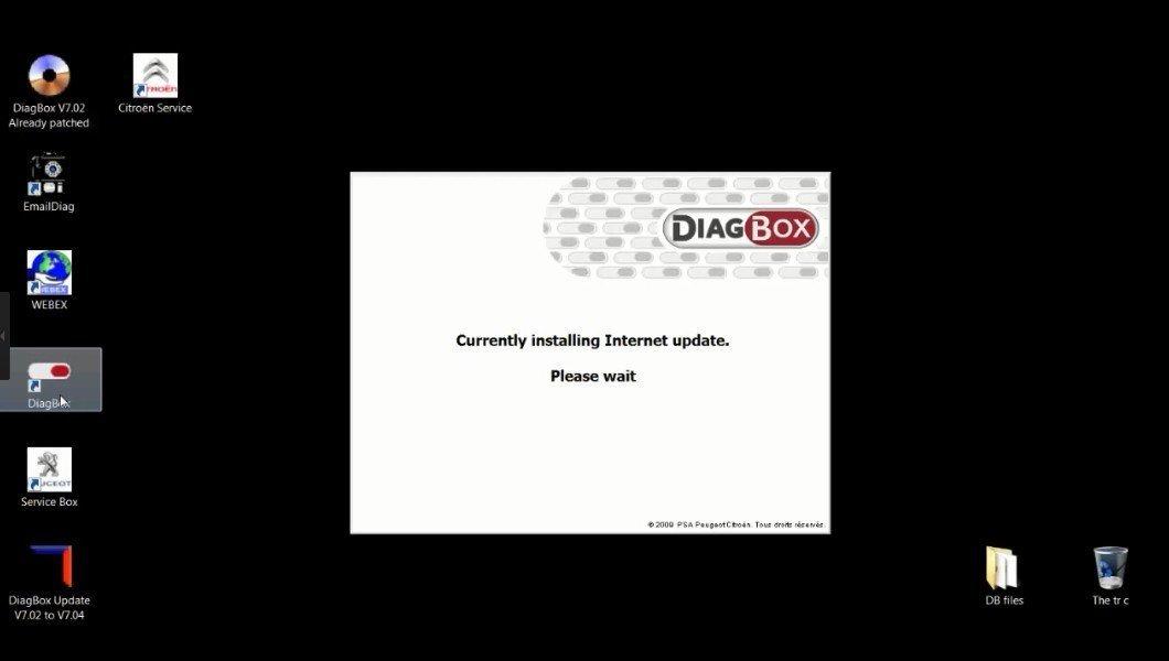 Autos-Family Diagbox V7  61 V7  60 V7  57 Software for Lexia-3