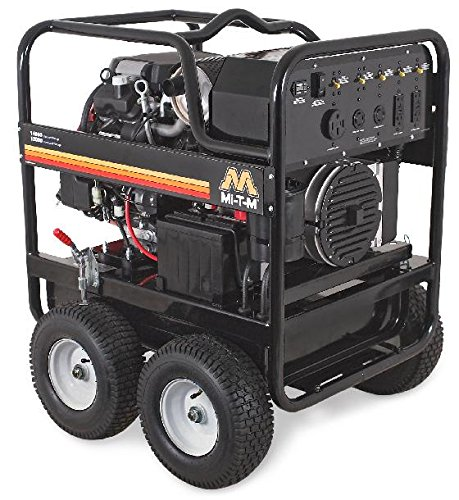 Mi-T-M GEN-13000-1MSE Gasoline Generator, 13000W Maximum AC Output