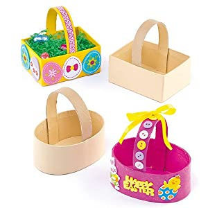 Amazon.com: Easter Card Craft Baskets for Children to