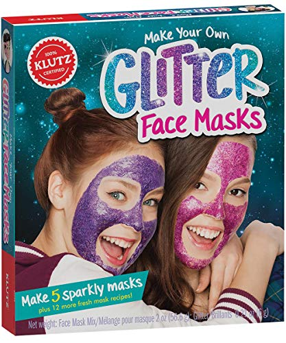 Klutz Make Your Own Glitter Face Masks (Make Your Own Face Mask For Kids)